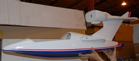 Seaplane body fuselage Part-SeaPlane-Fuselage