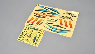 self-adhesive color labels (each color as one set)