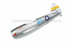 Silver Fuselage for AirField RC P47 750mm