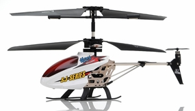 SJ991 IR 3.5CH Sky Writer RC Helicopter (White)