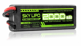 Sky Lipo Battery 2000mAh 20C 2 cells