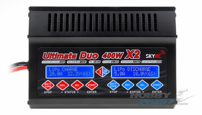 Sky RC Ultimate800 Li-ion/Fe/Polymer 1-6 cells   NiCd/NiMH battery 1-18 cells Charger w/LCD Display