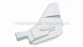 Sky Trainer 400 Rudder (White) 93A400-04-White-Rudder