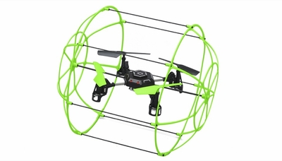 Sky Walker 1306 4 CH RC Quad Copter 2.4ghz Ready to Fly (Green)