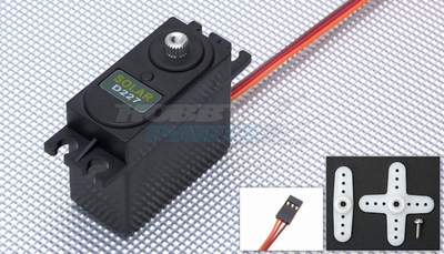 Solar Servo D227 0.21@4.8v Digital Metal Gear 52g