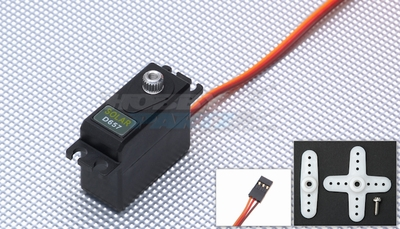 Solar Servo D657 0.12@4.8v Mini Digital 25g Metal Gear 33P-SolarServo-D657