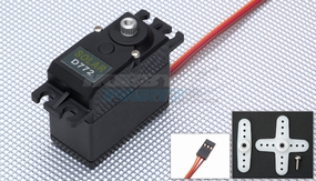 Solar Servo D772 High Voltage 0.17sec@7.4v 64g Digital Metal Gear 33P-SolarServo-D772