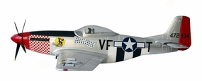 Spare Parts for AirField RC P51-Mustang 1400MM (SILVER)