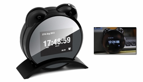 Spy Clock Camera 720P HD Motion Detection and Remote Control