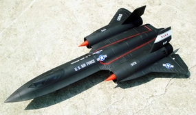 SR-71 High Performance 6-CH RC Jet w/ Twin 64MM EDF Fan (Kit Version) RC Remote Control Radio