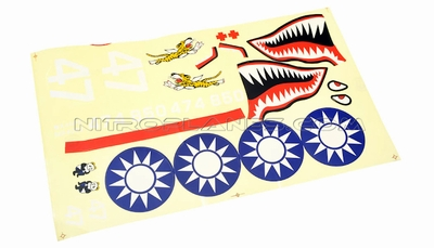 Sticker (FlyingTiger) 93A260-15-FlyingTiger-Sticker