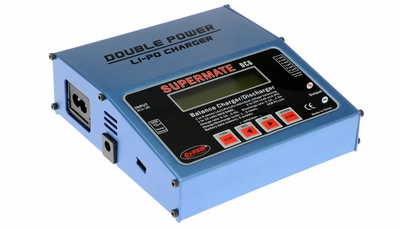 Supermate DC6 Doublepower Balance Charger (Blue)