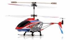 Syma 3 Channel S107G Mini Indoor Co-Axial  RC Helicopter w/ Gyro (Red)