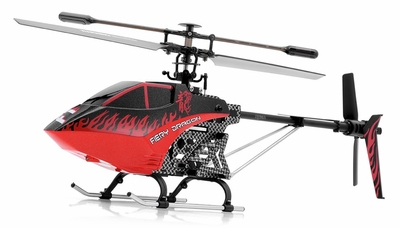 Syma F1 Armor 3 Channel RC Helicopter 2.4ghz (Red) RC Remote Control Radio