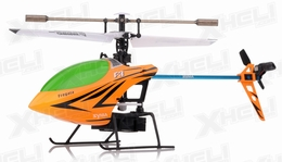 Syma F3 4 Channel RC Helicopter 2.4ghz (Orange)