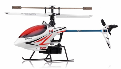 Syma F3 4 Channel RC Helicopter 2.4ghz (White)