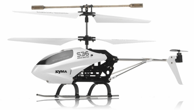 Syma RC  S36 2.4ghz 3CH Helicopter with Gyro (White) RC Remote Control Radio