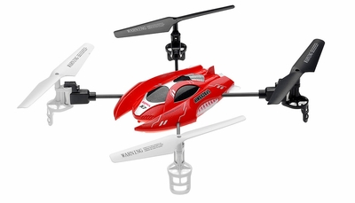 Syma RC X7 4 Channel SpaceShip Quadcopter 2.4G (Red) RC Remote Control Radio