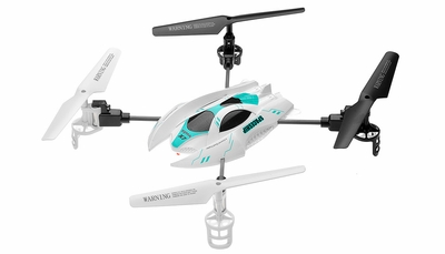 Syma RC X7 4 Channel SpaceShip Quadcopter 2.4G (White)