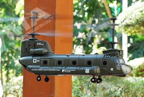 Syma S022 Big CH-47 Chinook 3 Channel RC Helicopter RC Remote Control Radio