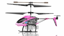Syma S107P Bubble RC 3 Channel Helicopter (Pink)