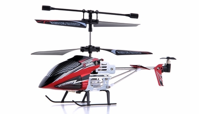 Syma S110G 3-Channel RC Indoor Mini Micro Palm Size Co-Axial Infared RC Helicopter w/ Built in Gyro (Red) RC Remote Control Radio