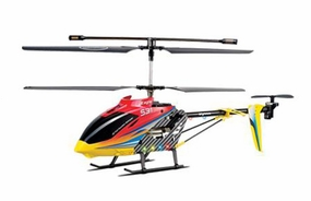 Syma S31 Eagle RC 3 Channel Helicopter 2.4Ghz (Red) RC Remote Control Radio
