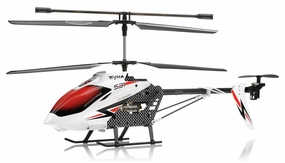 Syma S31 Eagle RC 3 Channel Helicopter 2.4Ghz (White) RC Remote Control Radio
