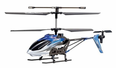 Syma S32 Lightning RC 3 Channel Helicopter 2.4Ghz (Blue) RC Remote Control Radio