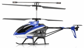"Syma S33 3 Channel Metal RC Helicopter 2.4ghz 30"" Long (Blue)"