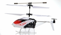 Syma S5 Infrared 3CH RC Helicopter with Gyro (White)