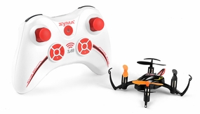 Syma X2 Mini 4 Channel Quadcopter Ready to Fly 2.4ghz with Gyro (Black) RC Remote Control Radio
