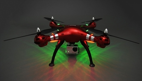 Syma X8HG Hover Headless 8MP Camera w/ 8GB Memory Card 2.4G 6-axis Gyro Quadcopter  Ready to Fly