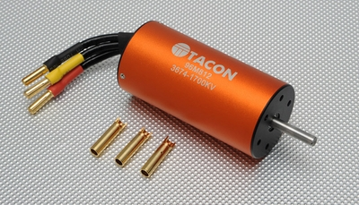 Tacon Brushless Motor LBP3674-B/2Y-1700KV For 90mm EDF Jet