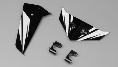 Tail decorate blades (Black)