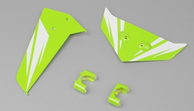 Tail decorate blades (Green)