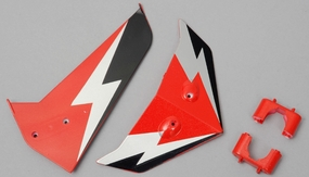 Tail decorate blades (Red)