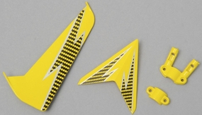 Tail decoration blades (Red)