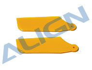 Tail Rotor Blade Set/Yellow HS1096