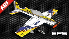 Tech One  4 Channel RC Extra 300 Indoor Pattern Plane F3P Almost Ready to Fly 830mm Wingspan