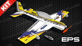 Tech One 4 Channel RC Extra 300 Indoor Pattern Plane F3P Kit 830mm Wingspan