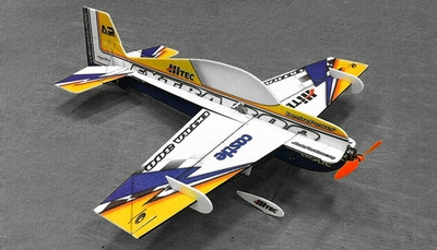 Tech One 4 Channel RC Extra 300 Indoor Pattern Plane F3P Kit 830mm Wingspan RC Remote Control Radio