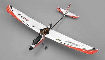 Tech One Hobby Mercury Trainer 4-Channel RC Airplane Kit (Red)