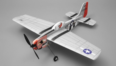 Tech One RC Hobby P51 Aerobatic 3D Warbird 4 Channel Almost Ready to Fly RC Remote Control Radio