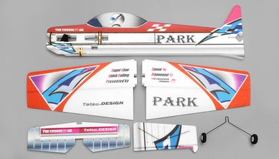 Tech One Hobby Park 1100 EPP 3D Plane Almost Ready to Fly