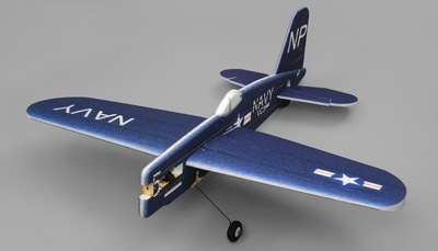 Tech One Hobby RC Plane F4U Aerobatic 3D Warbird 4 Channel Almost Ready to Fly