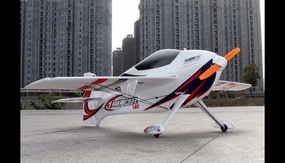 Tech One RC 4 CH Thunder180 Ultra Lightweight Advanced Indoor 3D Aerobatic RC Plane Almost Ready to Fly