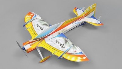 Tech One RC 4 Channel Apollo Depron RC Airplane Kit Version RC Remote Control Radio
