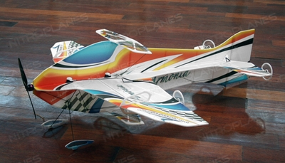 Tech One RC 4 Channel Armonia Indoor Aerobatic Freestyle Depron RC Plane Almost Ready to Fly 900mm Wingspan
