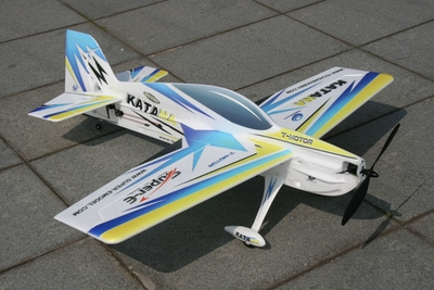 Tech One RC 4 Channel Katana EPO Aerobatic RC Plane Kit (Blue)